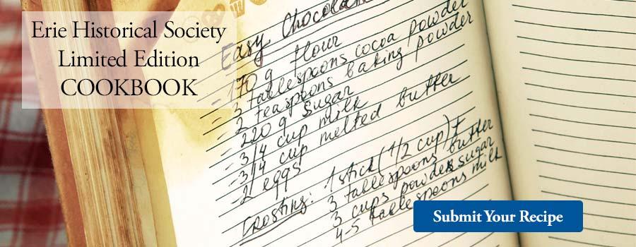Erie Historical Society Cookbook