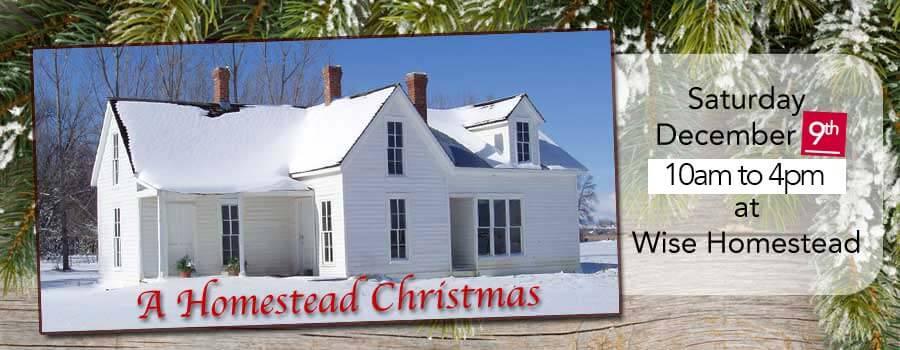 2017 Erie Historical Society's A Homestead Christmas